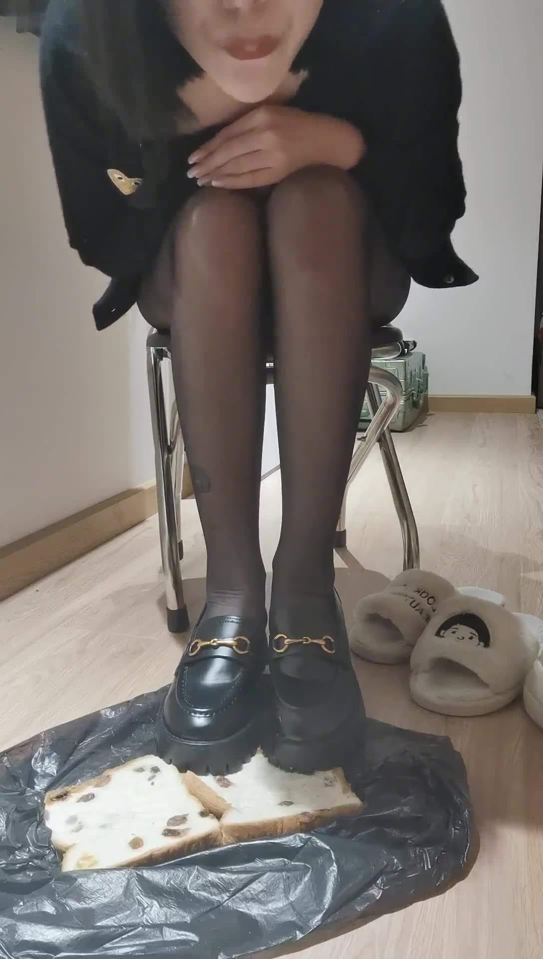 Spit, trample on dirty shoes, feed, humiliate you