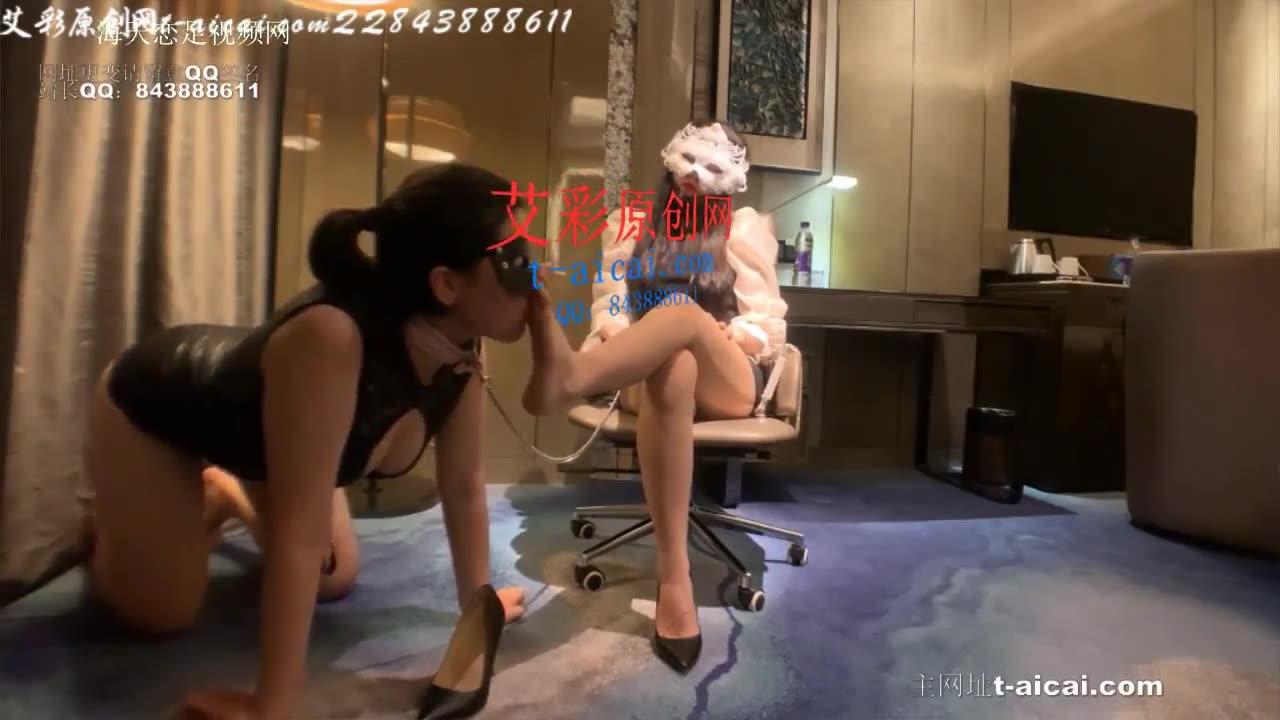 Wonderful temptation teaching for bitch foot fetish